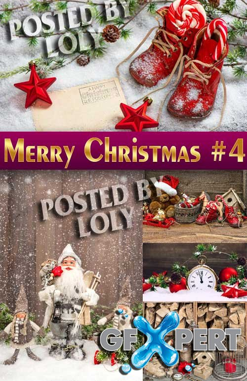 Merry Christmas Designs 2014 #4 - Stock Photo
