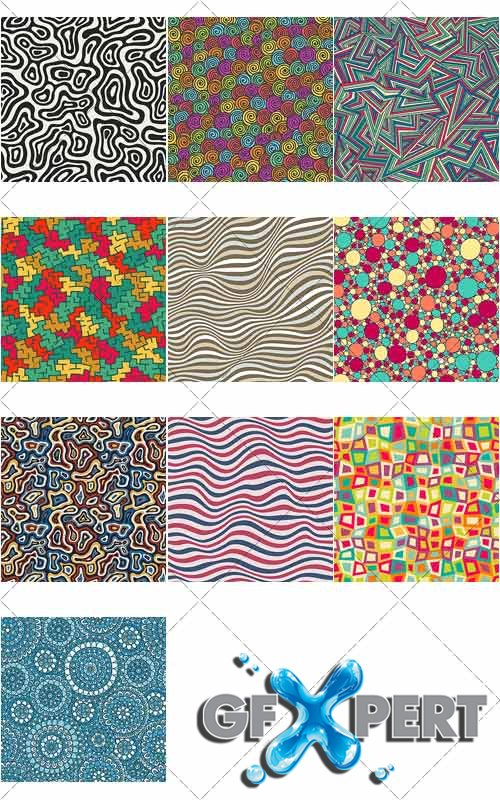 Colored in abstract style backgrounds 6, VectorImages