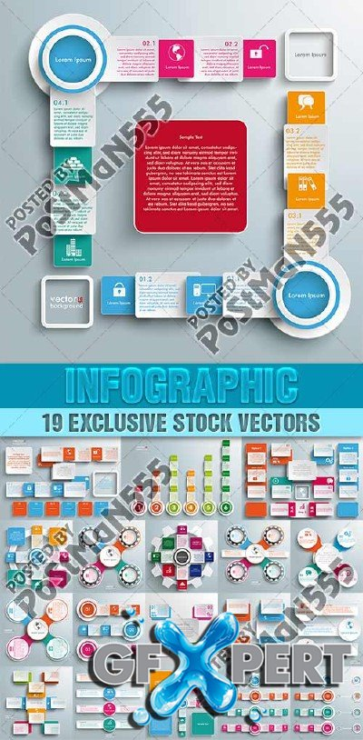 Infographics for Business, 2 - VectorImages