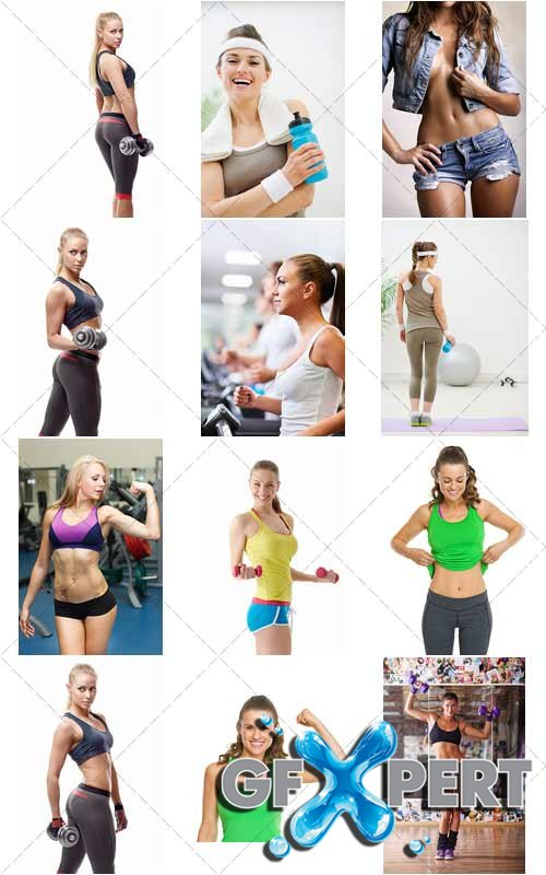 Fitness girls Collection, 3 - Photo