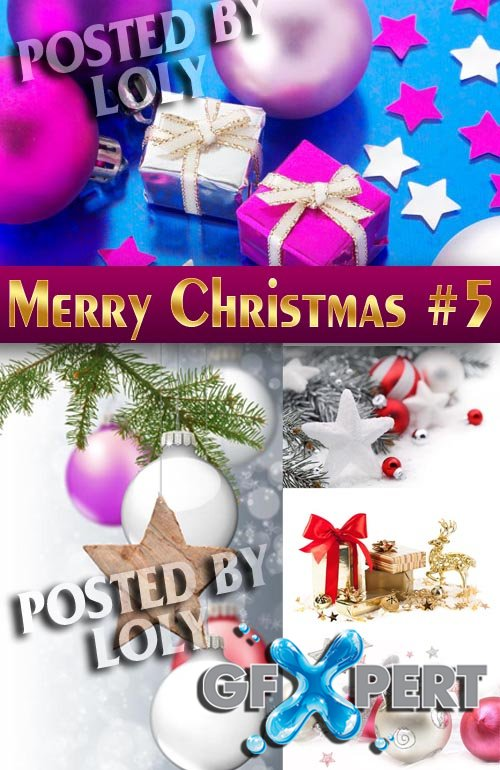 Merry Christmas Designs 2014 #5 - Stock Photo