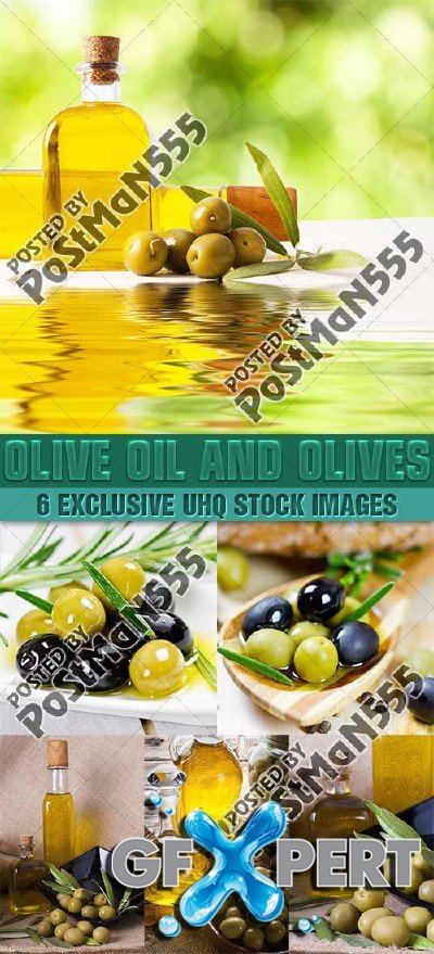 Olive oil and olives, 2 - PhotoStock