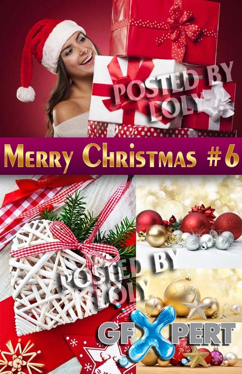 Merry Christmas Designs 2014 #6 - Stock Photo