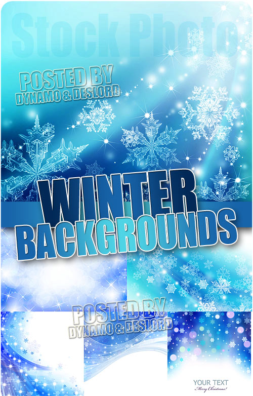 Winter backgrounds - UHQ Stock Photo