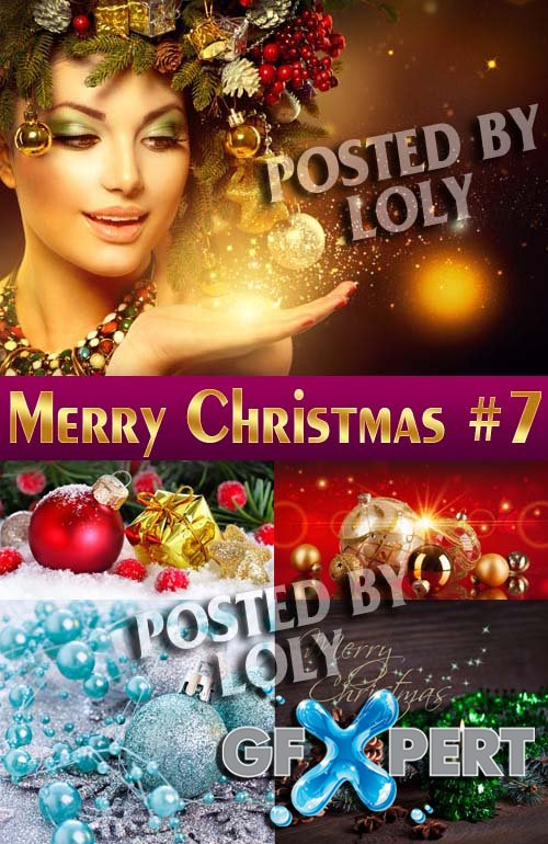 Merry Christmas Designs 2014 #7 - Stock Photo
