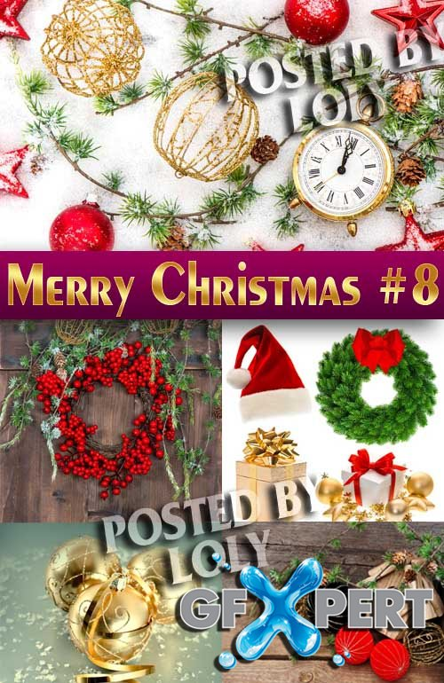 Merry Christmas Designs 2014 #8 - Stock Photo