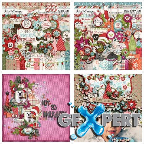 Scrapbooking kits - Naughty or Nice List