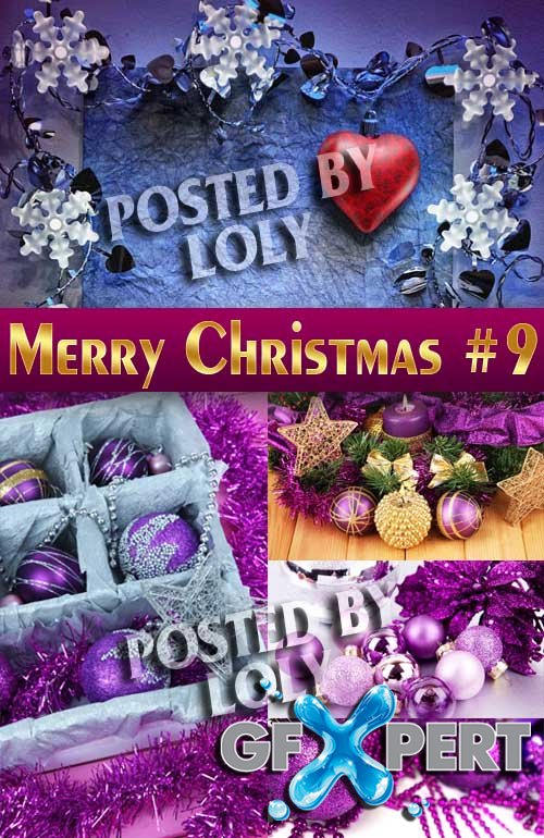 Merry Christmas Designs 2014 #9 - Stock Photo