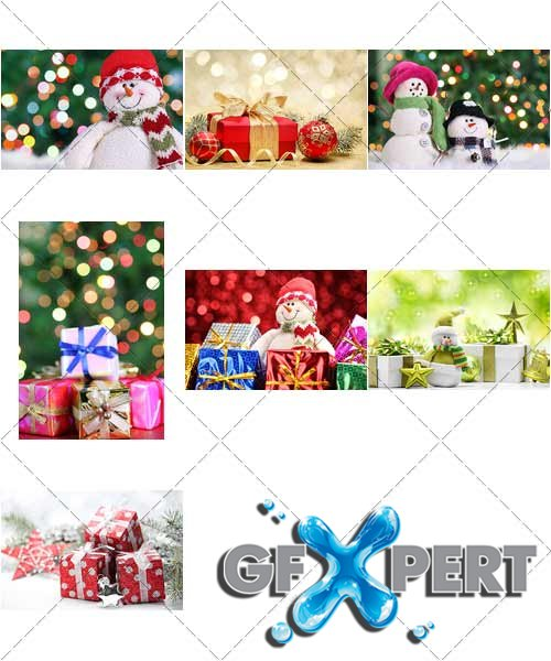 Beautiful backgrounds for Christmas and New Year, 5 - PhotoStock