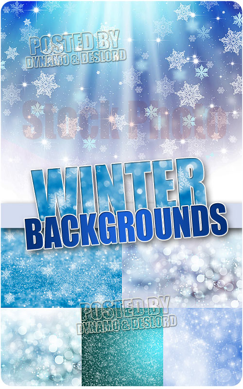 Winter Backgrounds #2 - UHQ Stock Photo