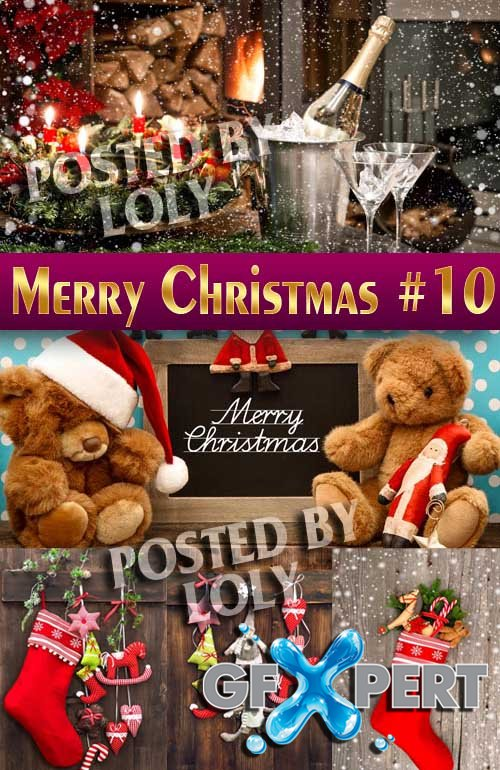 Merry Christmas Designs 2014 #10 - Stock Photo