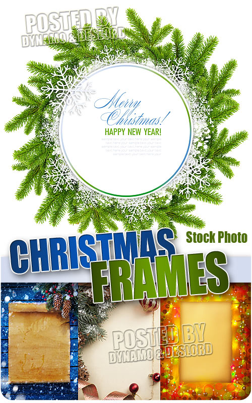 Xmas Different Frames - UHQ Stock Photo