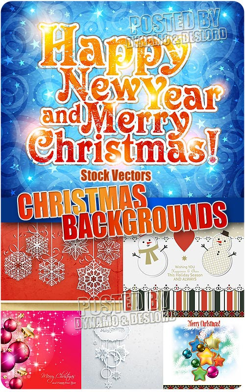 Christmas Background #2 - Stock Vectors