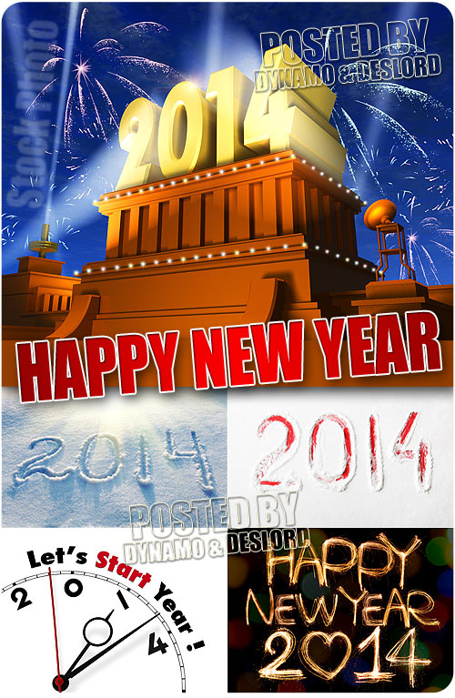 2014 New Year - UHQ Stock Photo