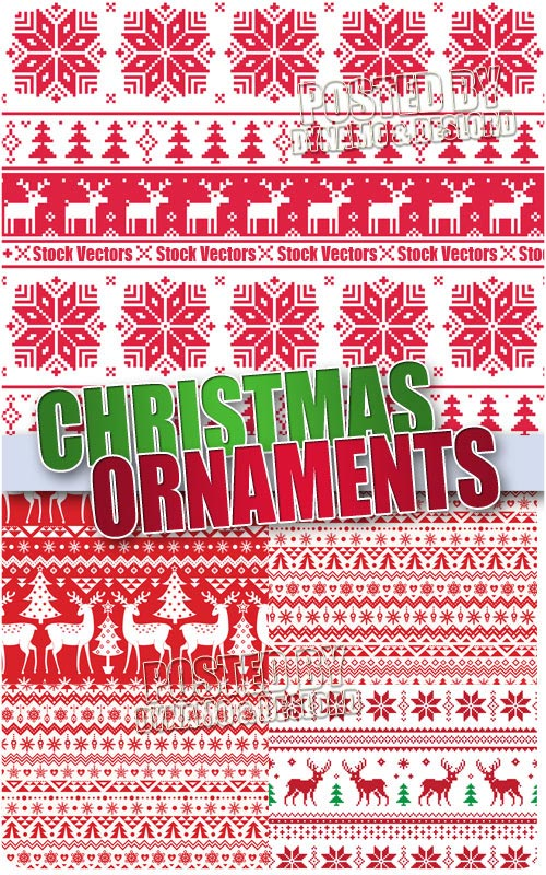 Christmas Ornaments - Stock Vectors