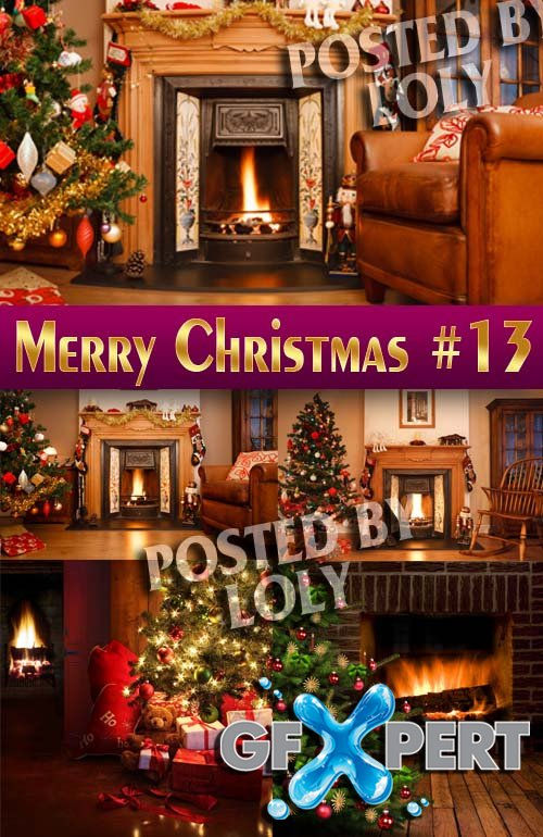 Merry Christmas Designs 2014 #13 - Stock Photo