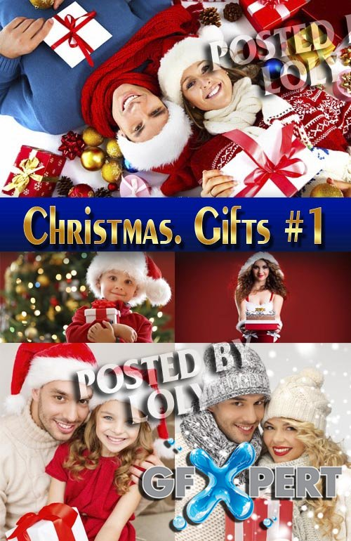 Gifts for Christmas #1 - Stock Photo