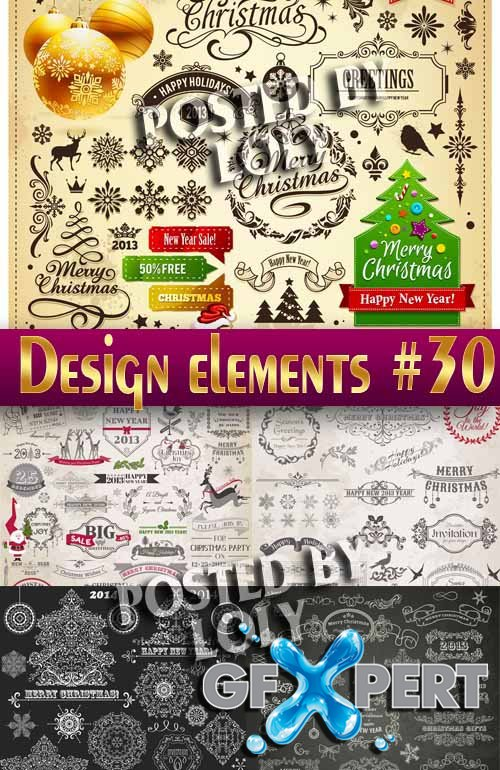 Design elements #30 - Stock Vector