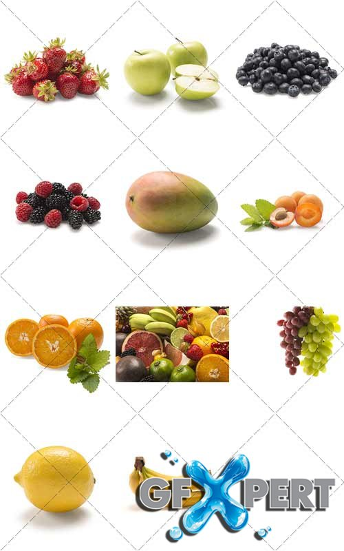 Fruits and berries - Natural Vitamins, PhotoStock