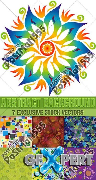 Abstract style backgrounds 8, VectorStock