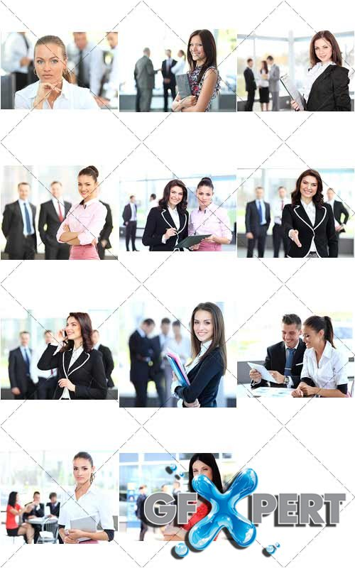 Successful business young woman, PhotoStock