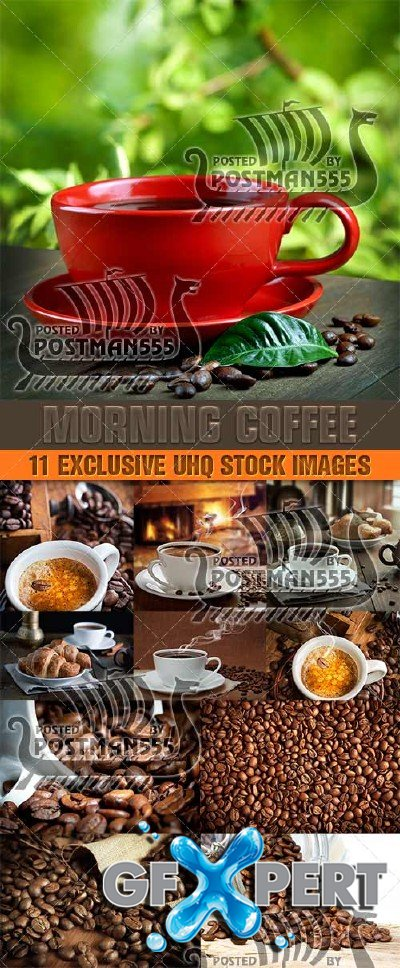 Black morning coffee, 3 - PhotoStock