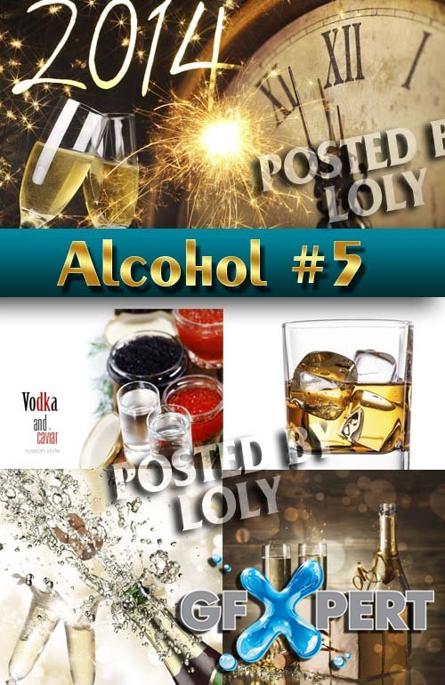 Alcohol Drinks #1 - Stock Photo