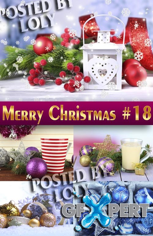 Merry Christmas Designs 2014 #18 - Stock Photo