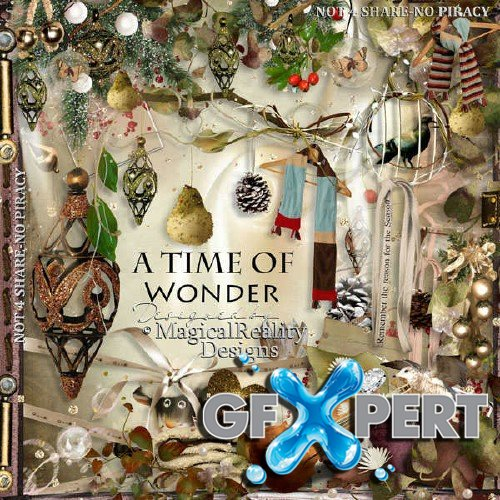 Scrapbooking kit - A Time of Wonder