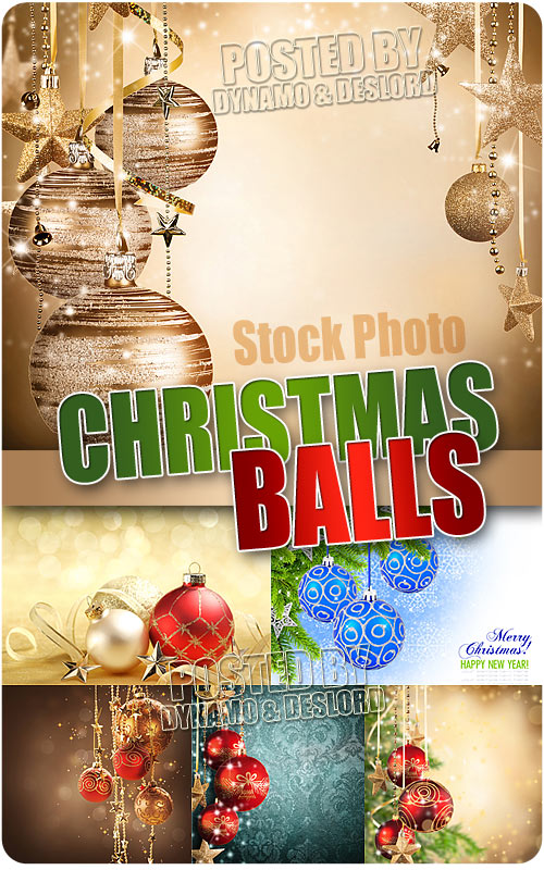 Christmas balls - UHQ Stock Photo