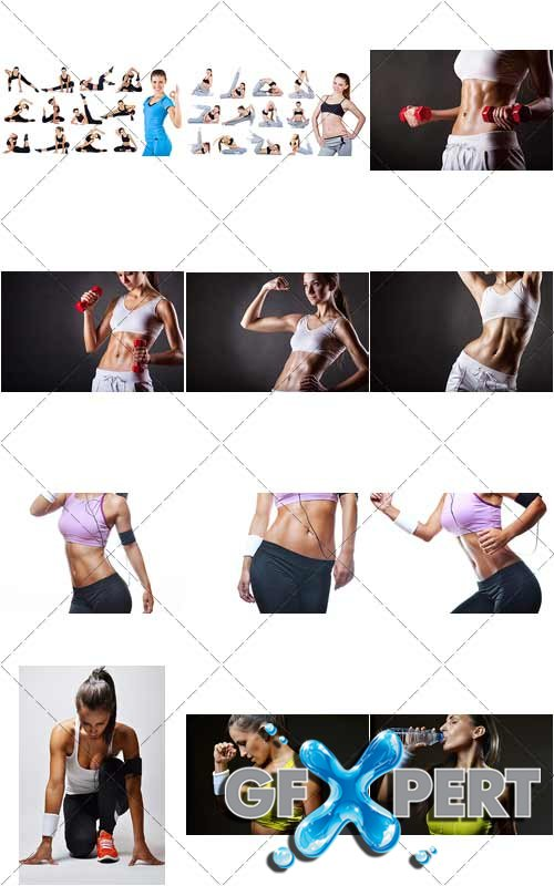 Fitness girls Collection, 4 - PhotoStock