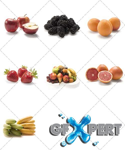 Fruits and berries - Natural Vitamins 3 - PhotoStock