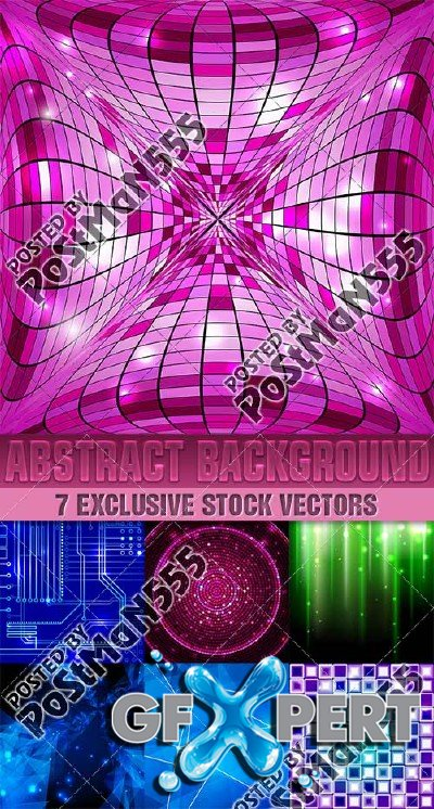 Abstract style backgrounds 9, Vector