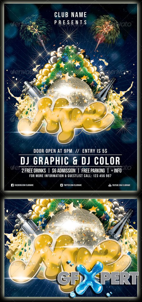 GraphicRiver - New Year's Eve