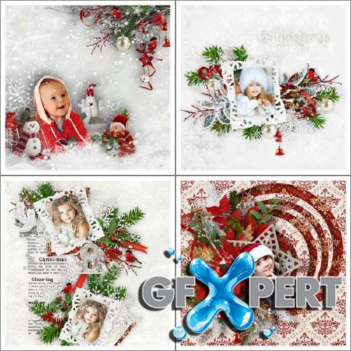 Digital scrap set - The Joy of Christmas