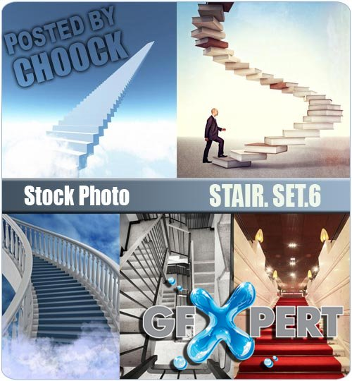 Stair. Set.6 - Stock Photo