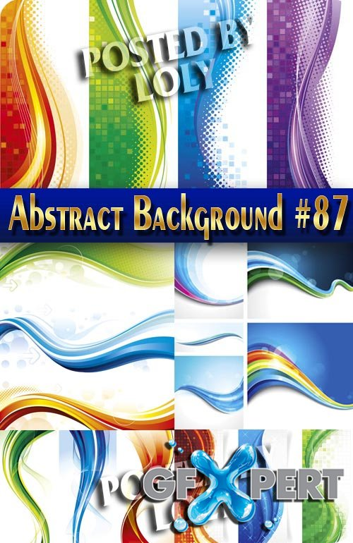 Vector Abstract Backgrounds #87 - Stock Vector