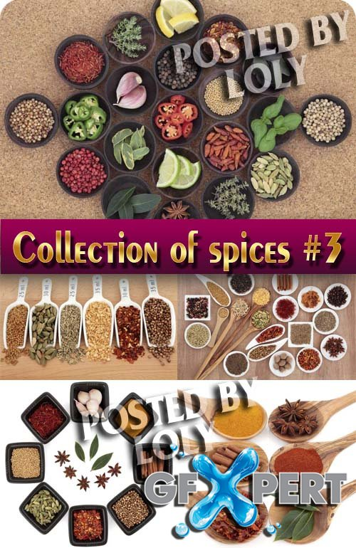 Food. Mega Collection. Spices #3 - Stock Photo