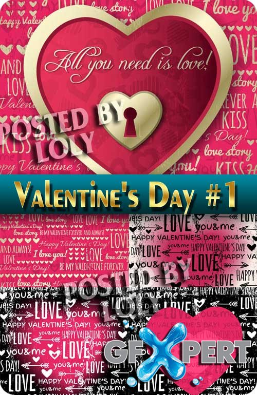 Soon Valentine's Day #1 - Stock Vector