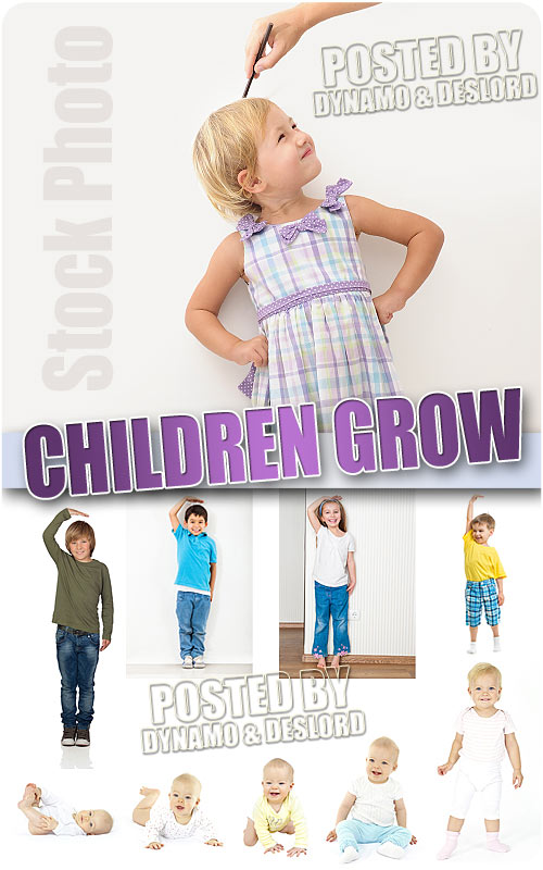 Children grow - UHQ Stock Photo
