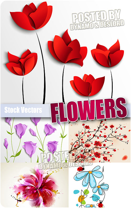 Flowers - Stock Vectors