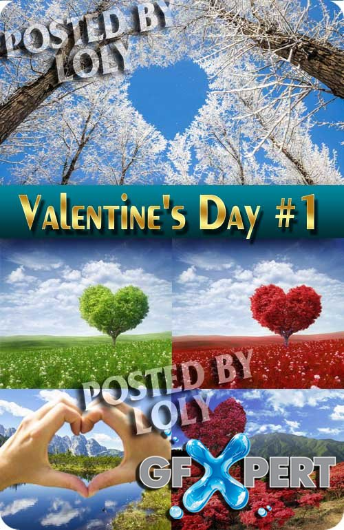 Soon Valentine's Day #1 - Stock Photo