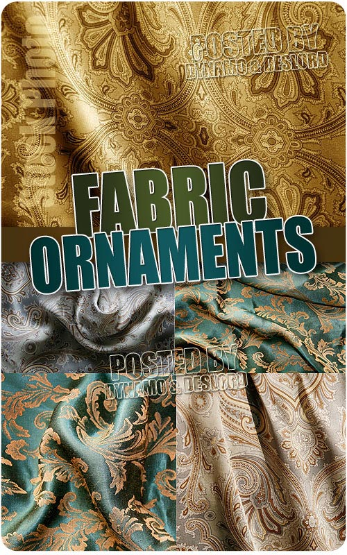 Fabric ornaments - UHQ Stock Photo