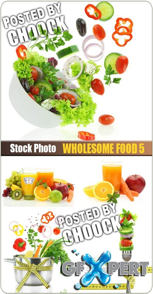 Wholesome food 5 - Stock Photo