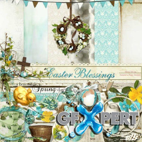 Scrap set - Easter Blessings