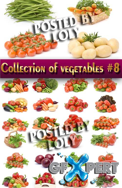 Food. Mega Collection. Vegetables #8 - Stock Photo