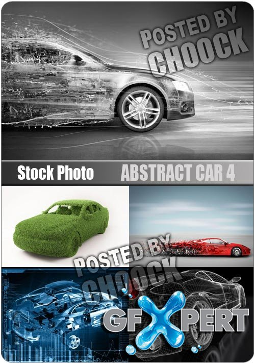 Abstract car 4 - Stock Photo