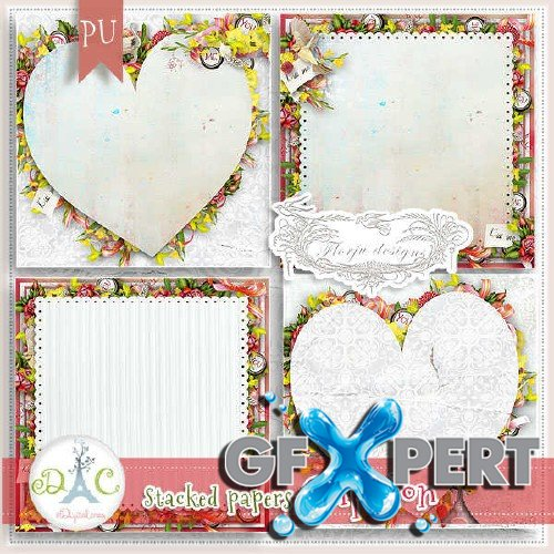 Loving scrap set - Cupidon