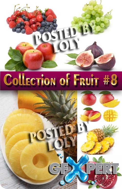 Food. Mega Collection. Fruit #8 - Stock Photo