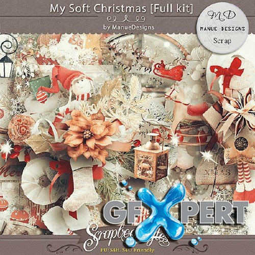 Scrap set - My Soft Christmas